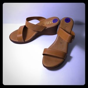 Brand wedge sandals!
